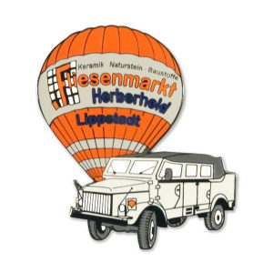 Ballonpins Hartemaille Fliesenmarkt