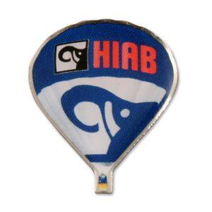 Ballonpins Offsetdruck Hiab