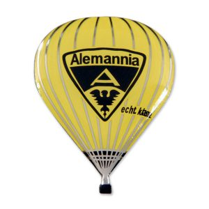 Ballonpin Siebdruck Alemannia