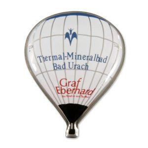 Ballonpin Siebdruck Thermal-Mineralbad Bad Urach
