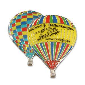 Ballonpin Druck Weichemaille ZZ-Logo