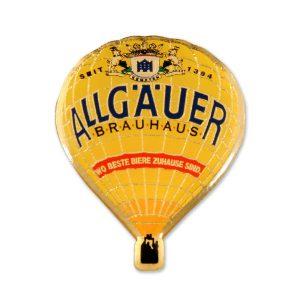 Ballonpins Geätzt Allgäuer Brauhaus